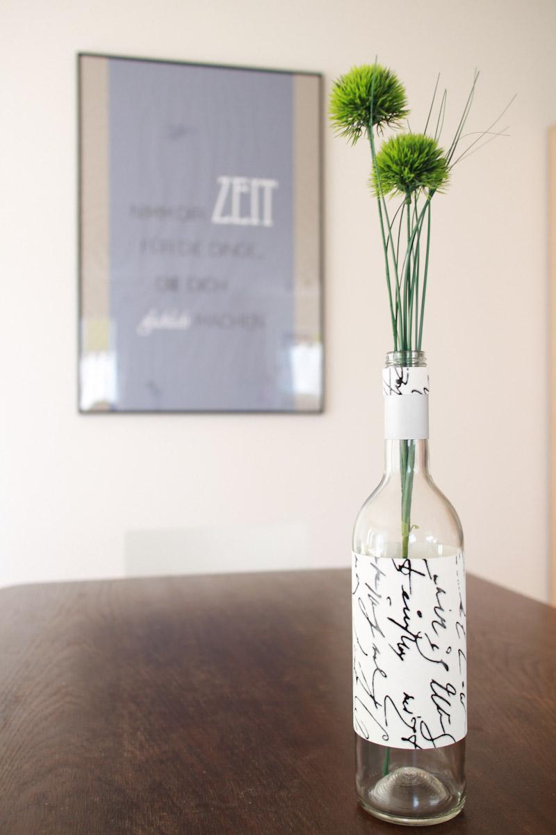 Dekorative Flaschenvase