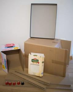 Berühmt Bastelanleitung: Kinderküche selber bauen - Paula Pünktchen JM47