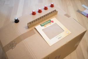 Relativ Bastelanleitung: Kinderküche selber bauen - Paula Pünktchen MU52
