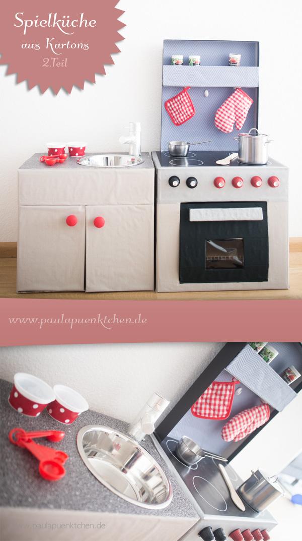 DIY-Spielkueche aus Pappe selbst basteln - www.paulapuenktchen.de